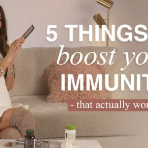 5 Foods To Boost Your Immunity How To Boost Immunity Natural | Mona Vand