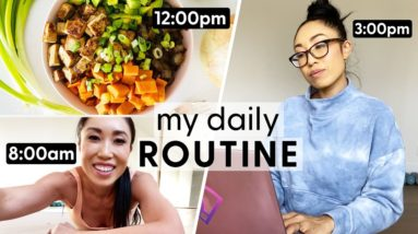 My Daily Routine for Staying Focused, Motivated & Fit